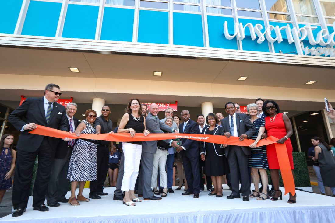 Unscripted Durham Ribbon Cutting Ceremony